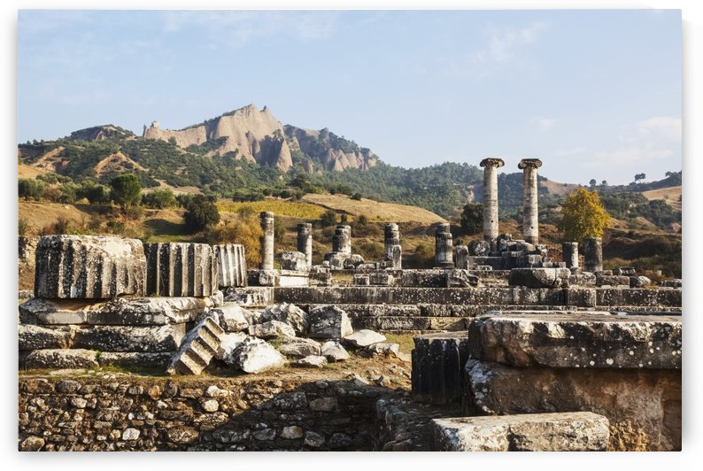 Ruins of the Temple of Artemis; Sardis, Turkey by PacificStock