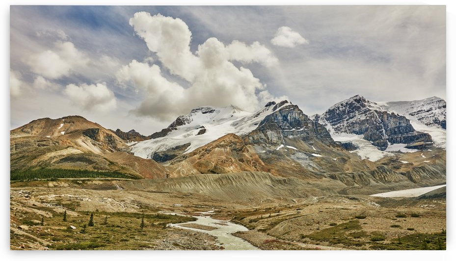 Rugged Canadian Rocky mountains in Jasper National Park; Alberta, Canada by PacificStock