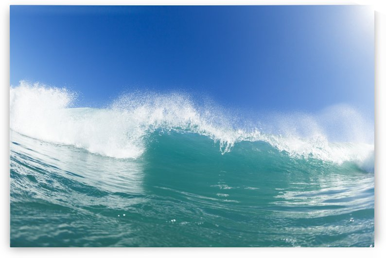 Blue Ocean Wave and Sunny Blue Sky by PacificStock