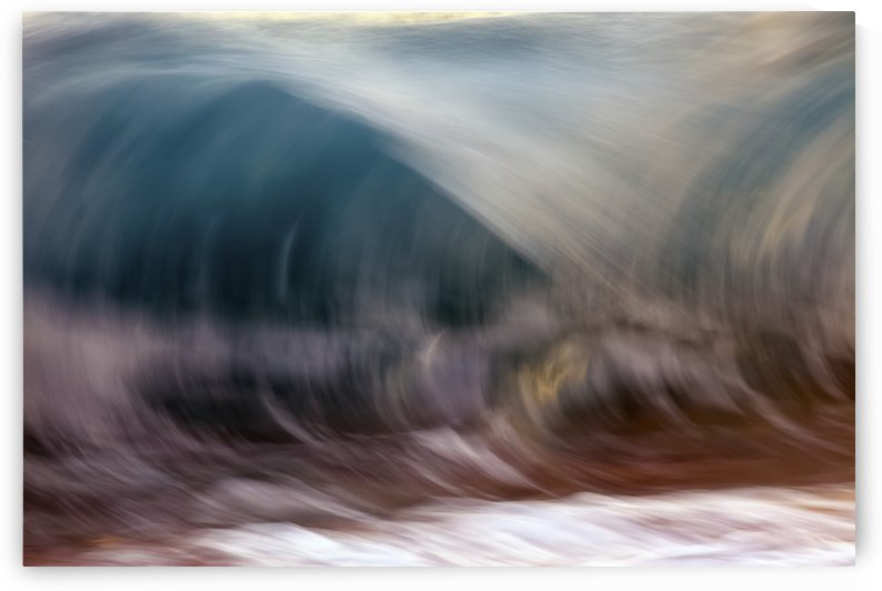 Ocean wave blurred by motion; Hawaii, United States of America by PacificStock