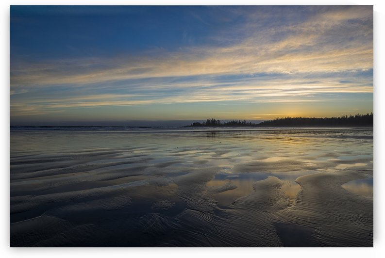 Sunset over Long Beach, Pacific Rim National Park Reserve; Tofino, British Columbia, Canada by PacificStock