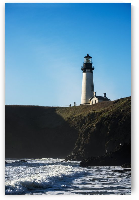 Yaquina Head Lighthouse; Newport, Oregon, United States of America by PacificStock