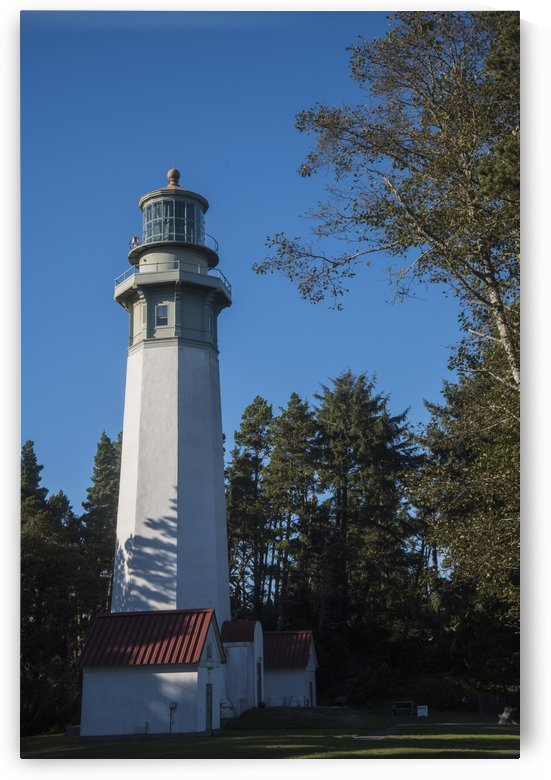 Grays Harbor Lighthouse, one of the tallest on the west coast of North America; Westport, Washington, United States of America by PacificStock