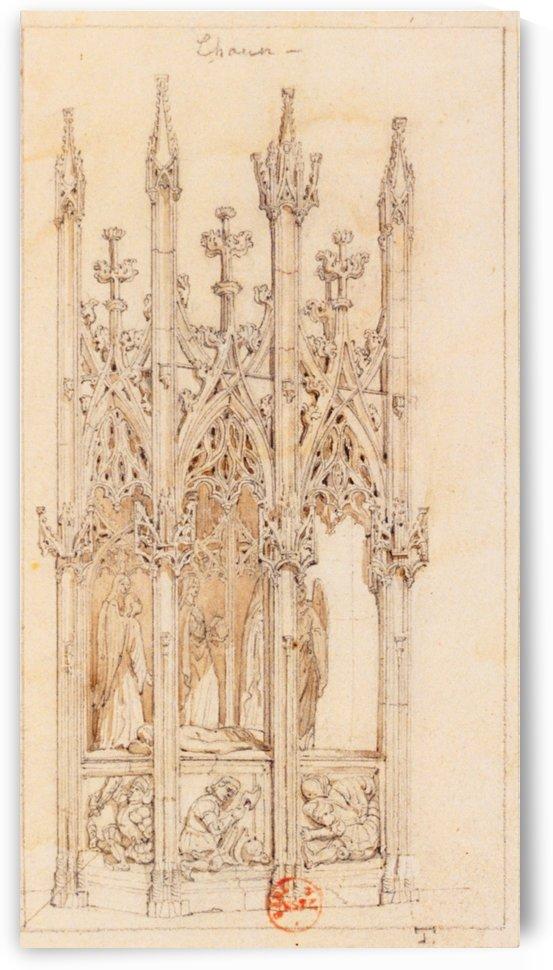 Tombeau du Christ by Adrien Dauzats