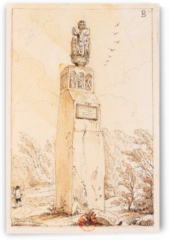 Christ de Breitenstein by Adrien Dauzats