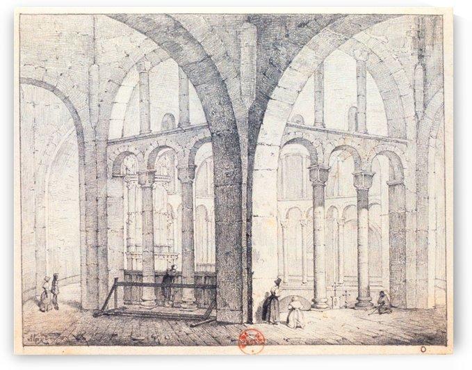 Octogone d'Ottmarsheim by Adrien Dauzats