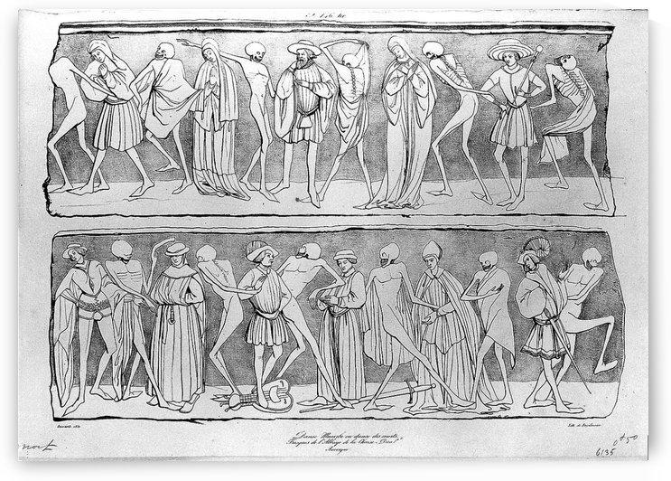 Dance of death by Adrien Dauzats