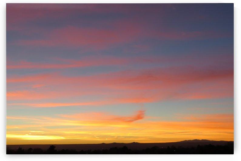 Amazing Sunset 4VP by Vicki Polin
