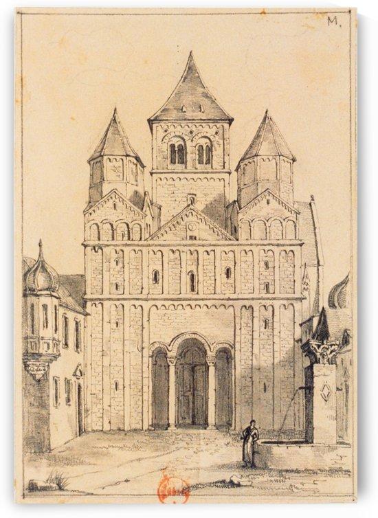 Eglise de Marrmoutier by Adrien Dauzats