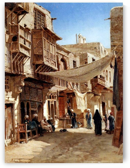Mosques, Egypt and Damascus by Adrien Dauzats