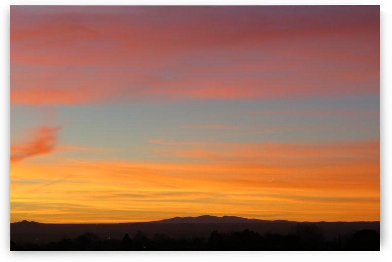 Amazing Sunset 3VP by Vicki Polin