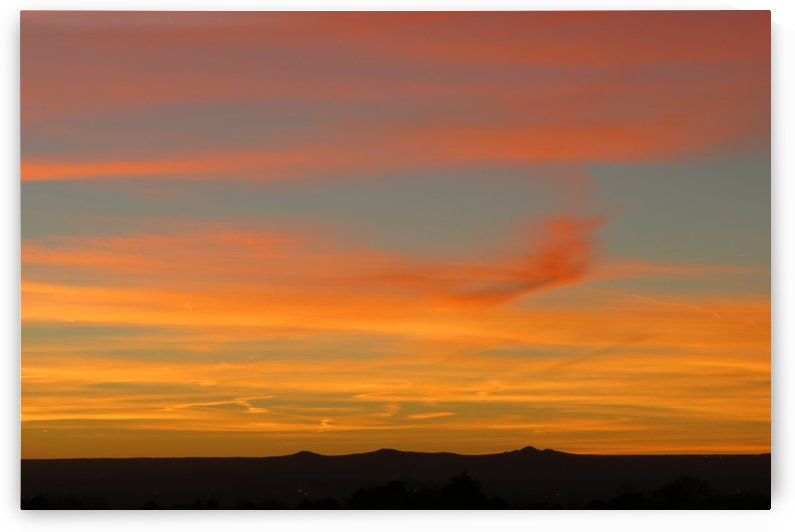 Amazing Sunset 1VP by Vicki Polin