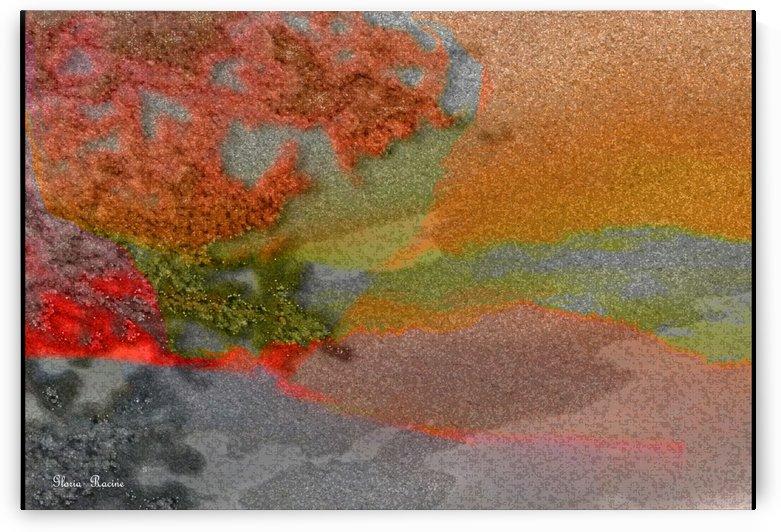 Dream Scape of colors by Gloria Racine