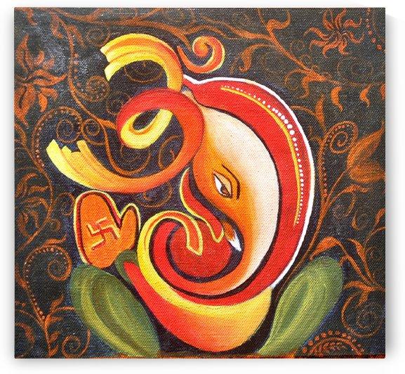 Ekdant Great Ganesha by Mrs Neeraj Parswal