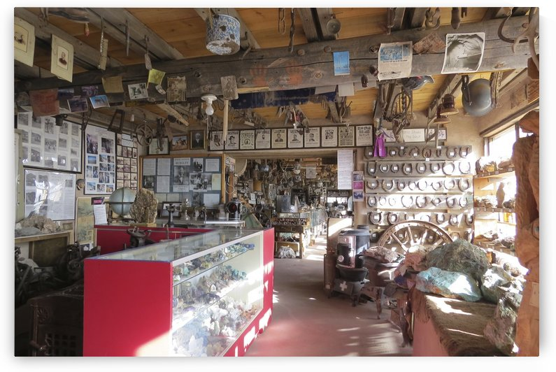 Turquoise Trail - Cerrillos Store 1VP by Vicki Polin