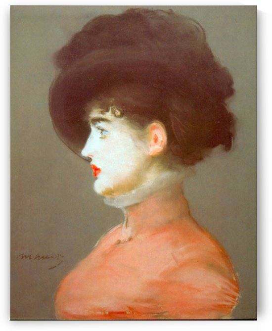Irma Brunne by Manet by Manet