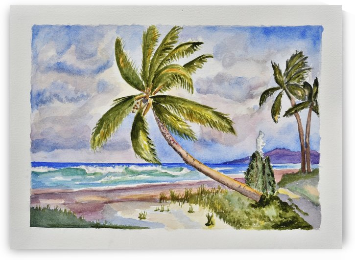 Beach Scene I by Linda Brody