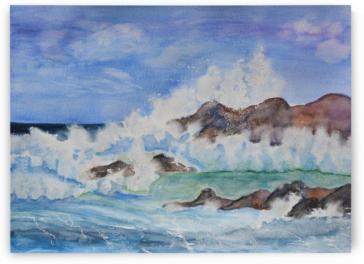 Crashing Wave II by Linda Brody