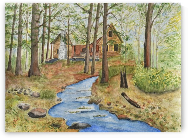 Cabin In the Woods by Linda Brody