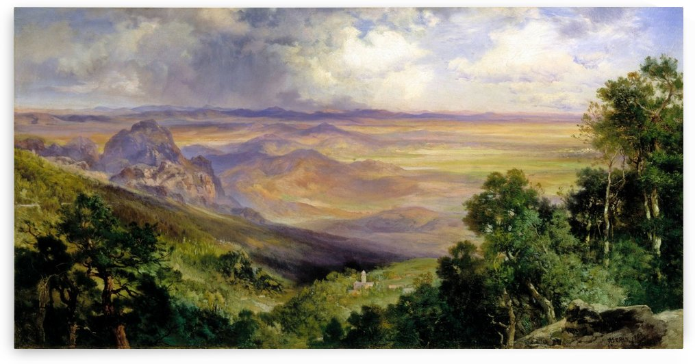 Valley of Cuernavaca by Thomas Moran