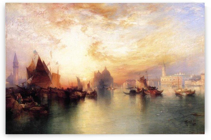 Venice, from near San Giorgio by Thomas Moran