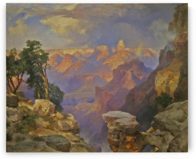Grand Canyon with rainbow by Thomas Moran