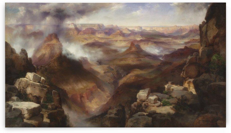 Grand Canyon of the Colorado River by Thomas Moran