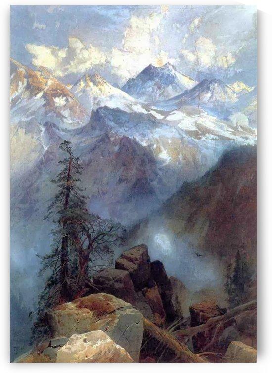 Summit of the Sierras by Thomas Moran