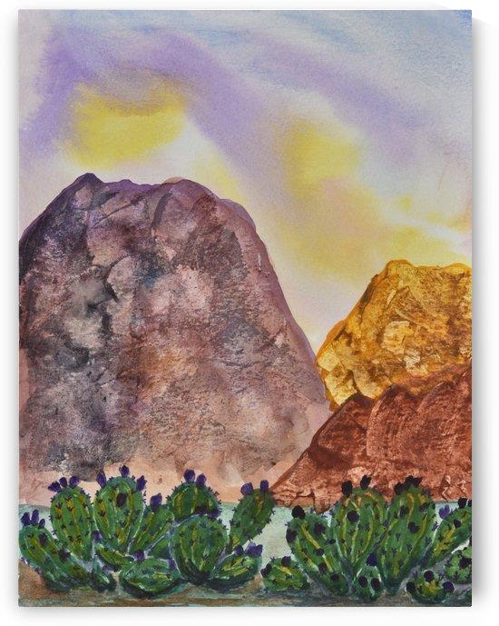 Southwest Landscape II by Linda Brody