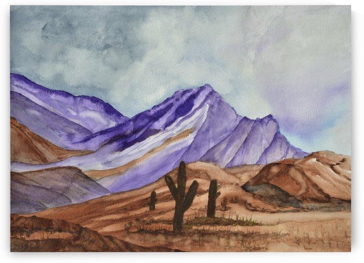 Southwest Landscape III by Linda Brody