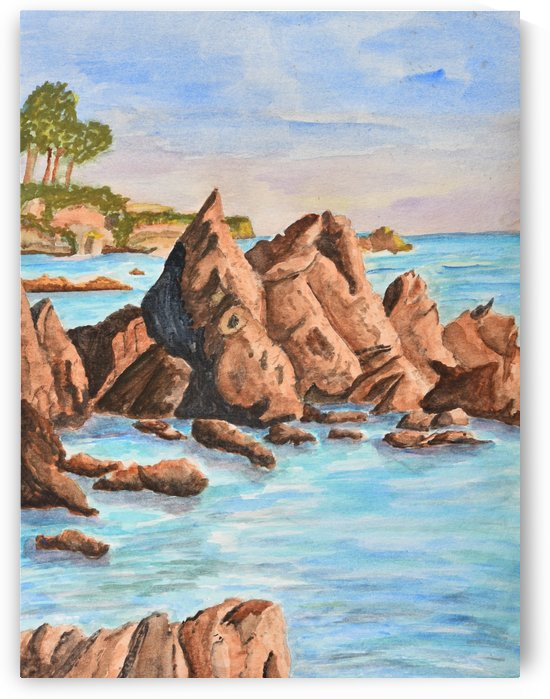 Squid Rock by Linda Brody
