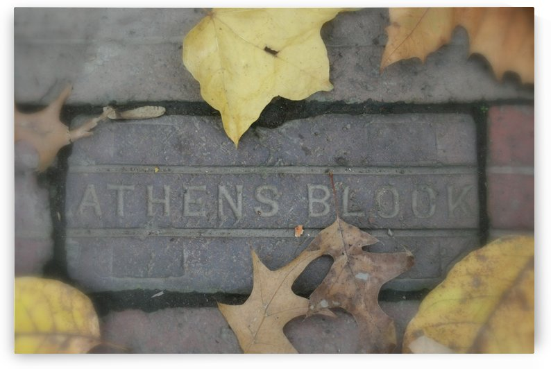 Athens Block by Ohio In Print