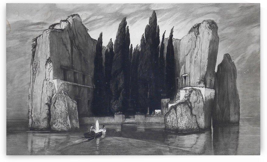 Isola dei Morti by Max Klinger