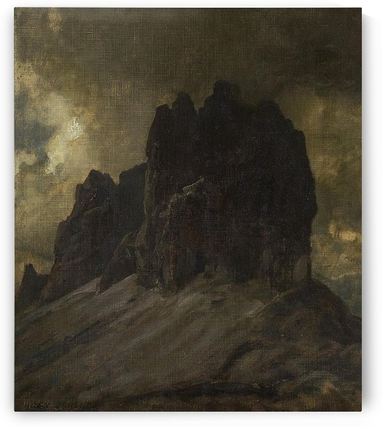View of the Dolomites by Eugen Bracht