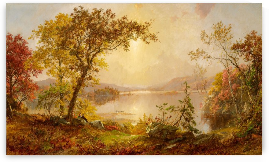 Lake Autumn on the Hudson by Jasper Francis Cropsey