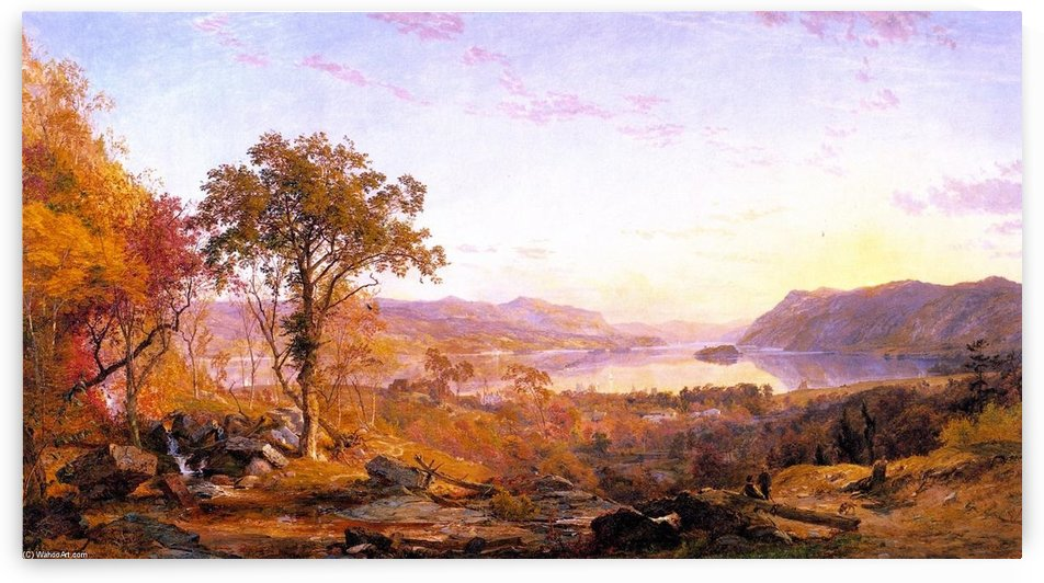 Indian Summer by Jasper Francis Cropsey