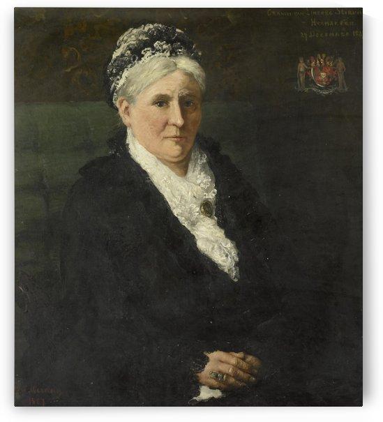 Maria Hermina Heemskerk by Hendrik Willem Mesdag