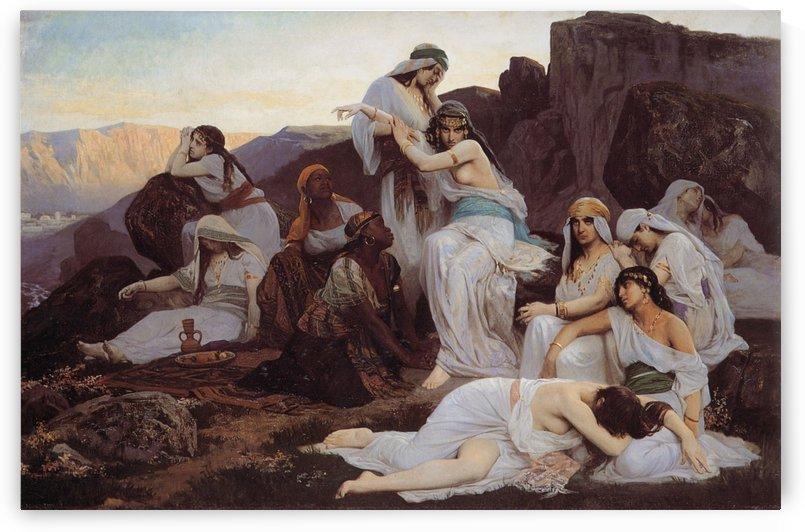 The Daughter of Jephthah by Edouard Bernard Debat-Ponsan