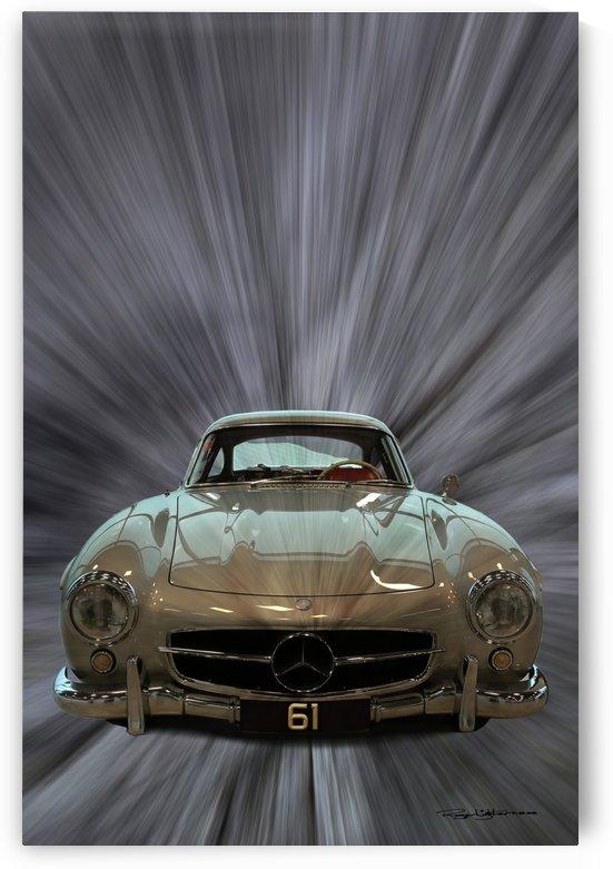 1955 Mercedes-Benz 300SL Gullwing by Roger Lighterness