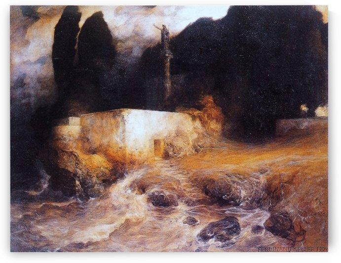 Neptune's Shrine by Ferdinand Keller