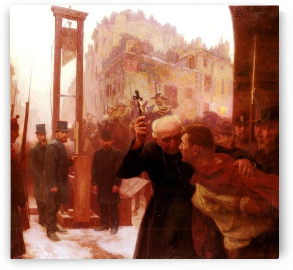 L-Expiation by Emile Friant