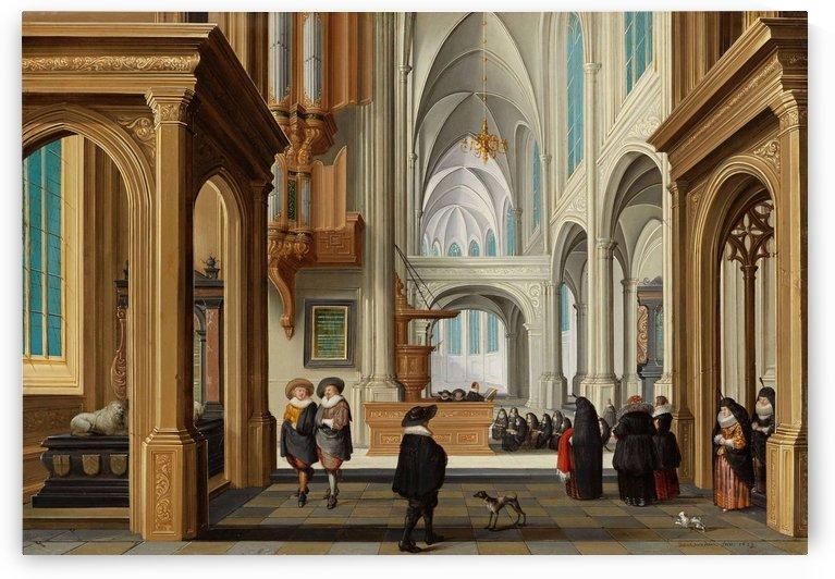 Solomon Receiving The Queen Of Sheba by Dirck van Delen