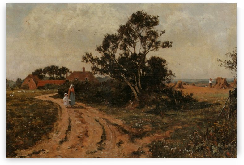 The Country Path by Edward Wilkins Waite