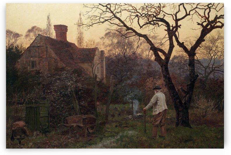 Evening, Brockham by Edward Wilkins Waite