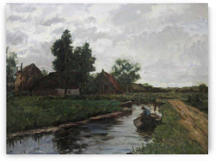 A fisherman by Edward Wilkins Waite
