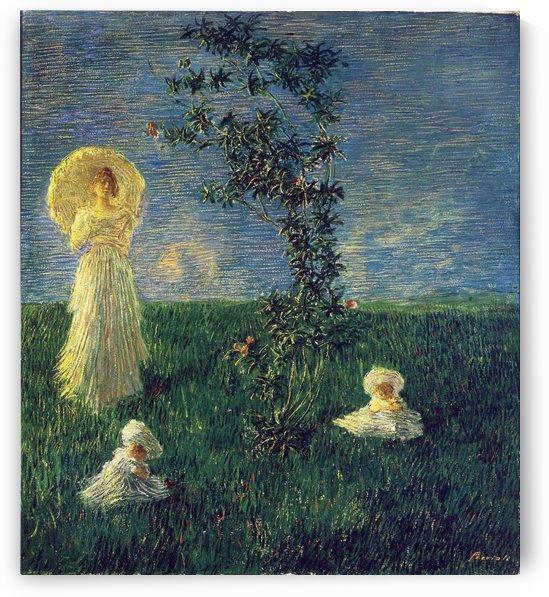 In the Meadow by Edward Wilkins Waite