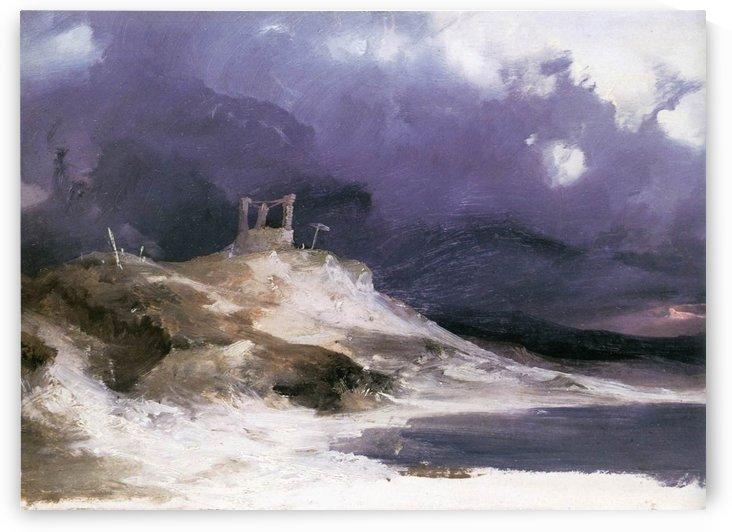 Galgenberg, 1833 by Carl Eduard Ferdinand Blechen