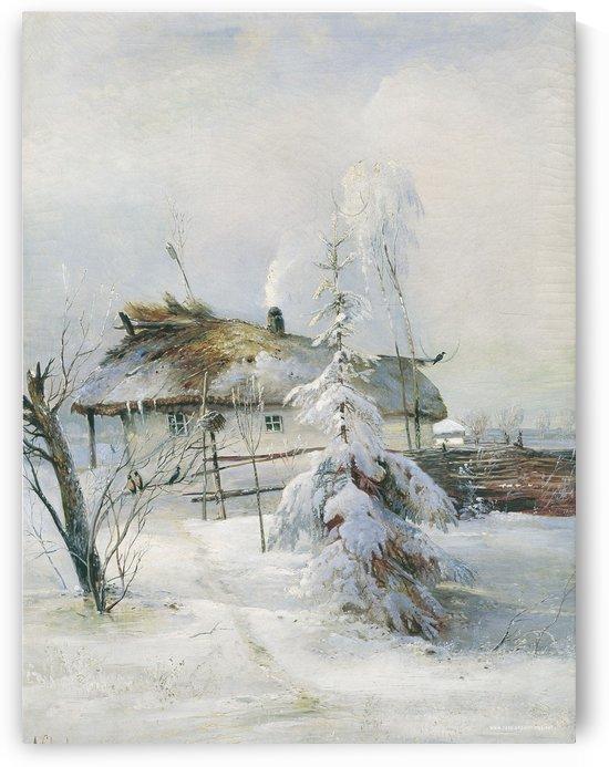 Winter Scenes by Alexei Kondratyevich Savrasov