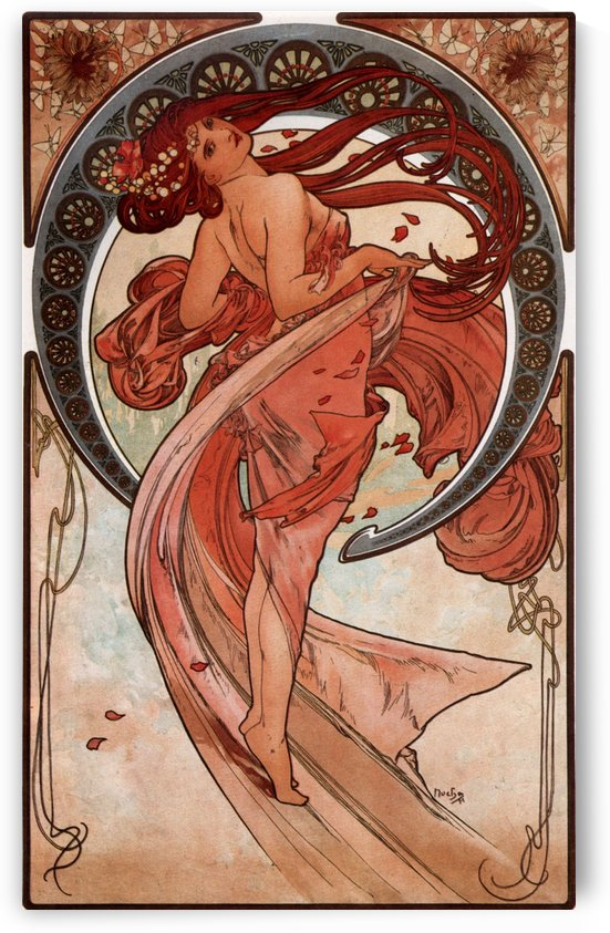 Dance, 1898 by Alphonse Mucha