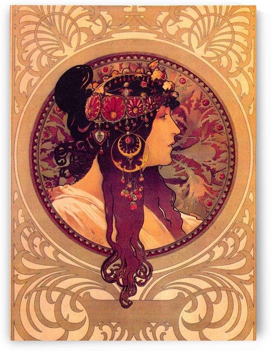 Donna Orechini by Alphonse Mucha